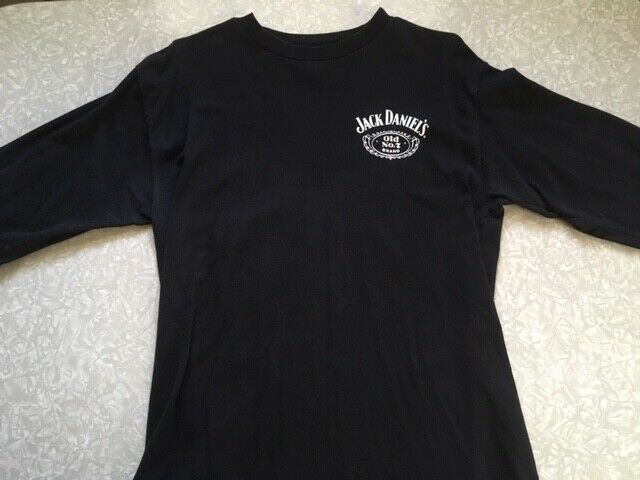 $20 • Buy Jack Daniels Old No. 7 Long Sleeved T-shirt, Officially Licensed 2004, Adult M