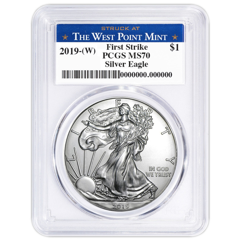 Silver Bullion Coins Coins & Paper Money A 2018 ANACS MS70 FIRST STRIKE FS MINT STATE SILVER EAGLE DOLLAR