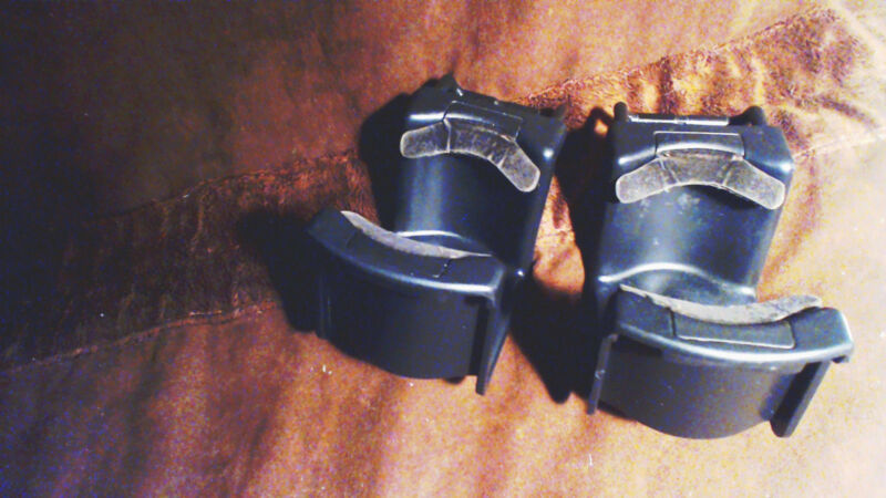 $32.87 • Buy (2) 1994 Lincoln Town Car Black Cup Holders  Swivel Back Into Console
