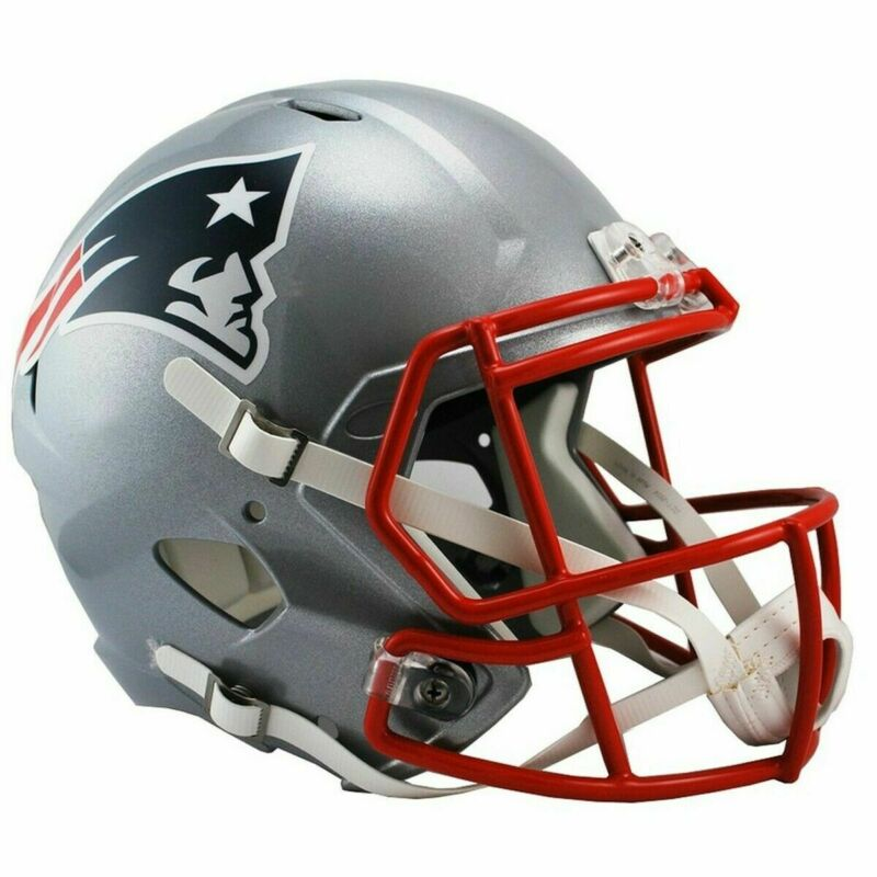 $114.88 • Buy New England Patriots Riddell NFL Full Size Speed Replica Football Helmet