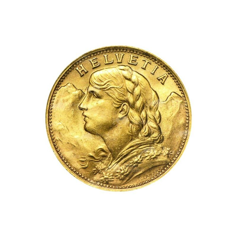 $346.07 • Buy Random Year 20 Swiss Francs Gold Coin