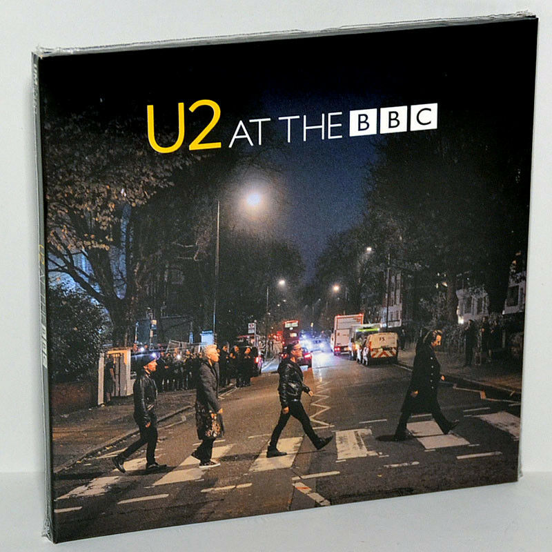 U2 Live At The BBC London UK 16Nov2017 Promo Tour CD+DVD Digipak Sealed New • 27$