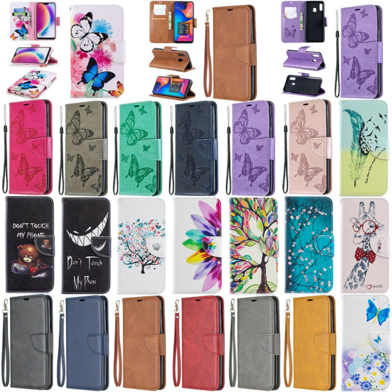 $4.45 • Buy For Xiaomi Redmi 7A 8A Note 7 6 5 8 Pro Flip Leather Magnetic Wallet Case Cover