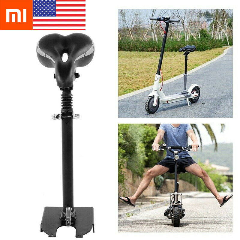 $35.99 • Buy Xiaomi M365 Folding Scooter Seat Electric Skateboard Saddle Adjustable Height US