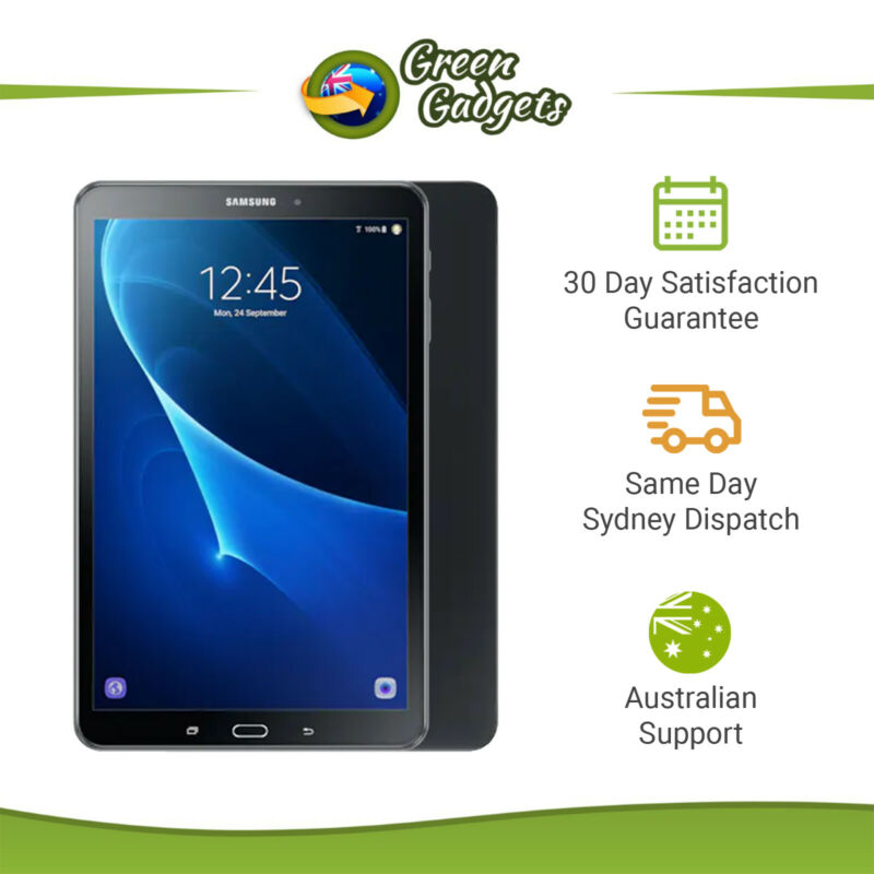 AU139 • Buy Samsung Galaxy Tab A 10.1 T580 - As New - 32GB Black White