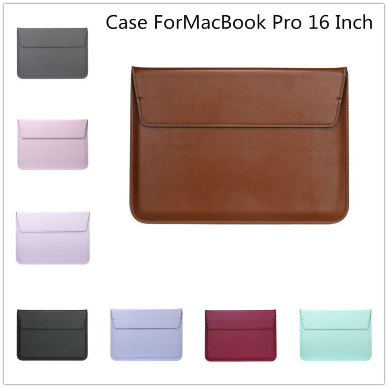 For MacBook Pro 16 Inch Anti-Scratch Protective Bag Envelope Design Laptop Case • 12$