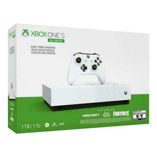 $199.99 • Buy Xbox One S 1TB Digital Edition Console Bundle - 3 GAMES INCLUDED - Fast Shipping