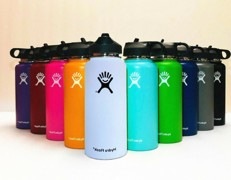 Hydro Flask_32OZ- Water Bottle Stainless Steel & Vacuum Insulated With Straw Lid • 34.99$