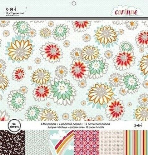 $23.53 • Buy S.e.i CORINNE Paper Pad / Stack 12 X 12  24 Sheets CLEARANCE PRICE