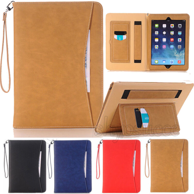 $9.40 • Buy Luxury Folio Real Leather Wallet Case Cover Stand For IPad Mini 2 3 4 5 Air Pro