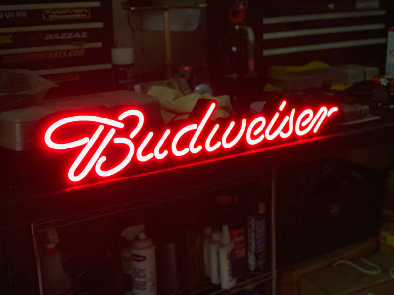 Bud Light Neon Beer Signs Compare Prices On Dealsan Com