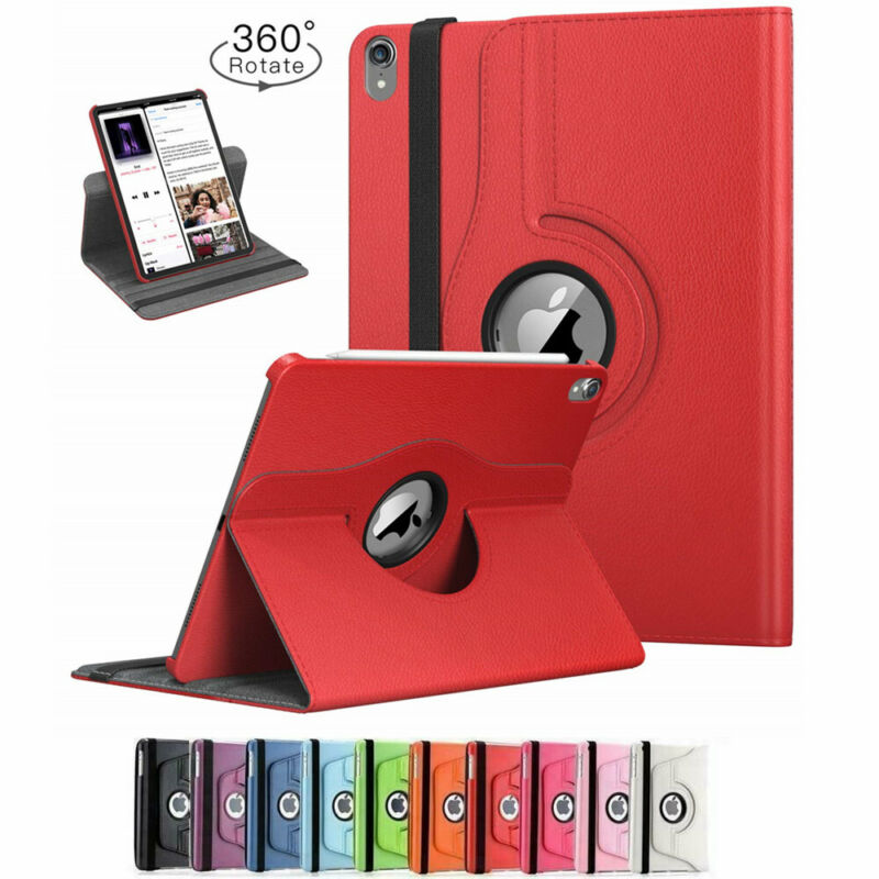$11.35 • Buy 360 Rotating Leather Folio Case Cover Stand For IPad 234 Mini 2 3 4 Air 1 2 Pro
