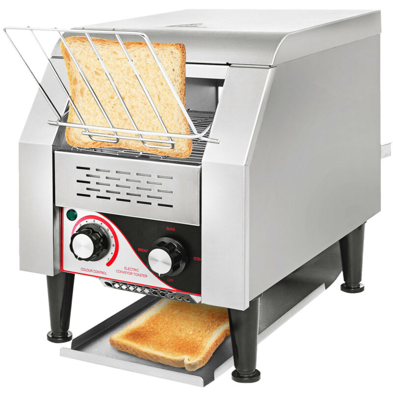 150PCS/H Electric Commercial Conveyor Toaster Tray Toasting Machine Restaurant • 309.99$