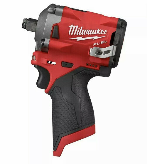 Milwaukee M12 2554-20 12V 3/8-Inch Stubby Impact Wrench - Bare Tool Without Box • 119.99$
