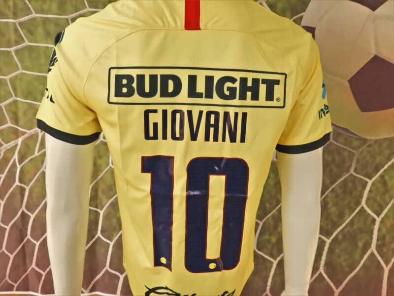 Liga Mx Club America Giovani Local Home Jersey 2019/2020 (new With Tags) • 32.95$