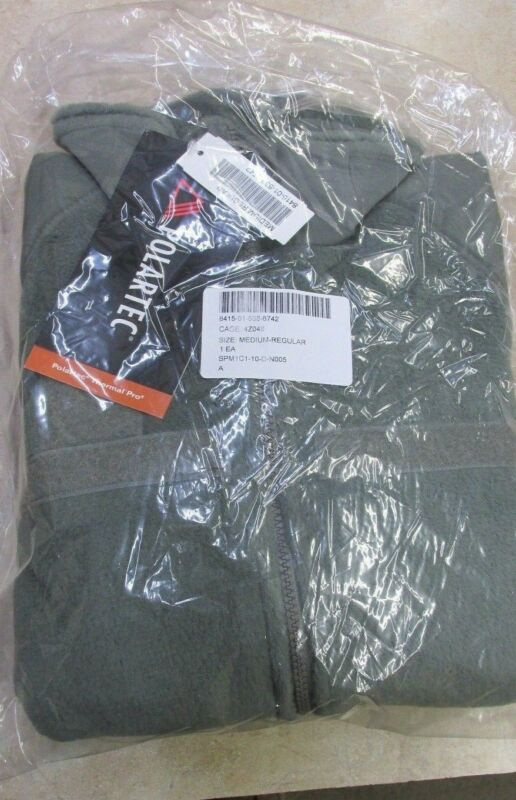 New In Wrap Us Military Polartec Thermal Pro Fleece Acu Foliage Med Reg Gen 3 L3 • 49.95$