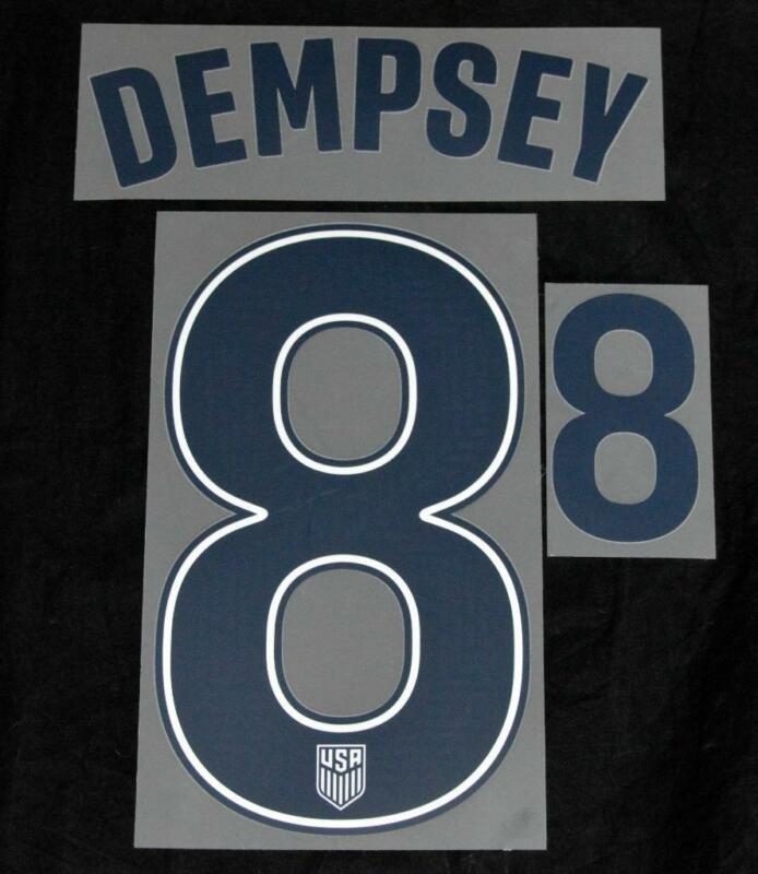 $17.50 • Buy USA Copa America Dempsey 8 Football Shirt Name/number Set Home Sporting ID