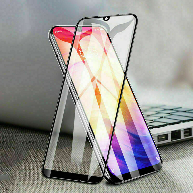 $1.19 • Buy Full Cover Tempered Glass Screen Protection For Xiaomi Redmi Note 7/8 Pro