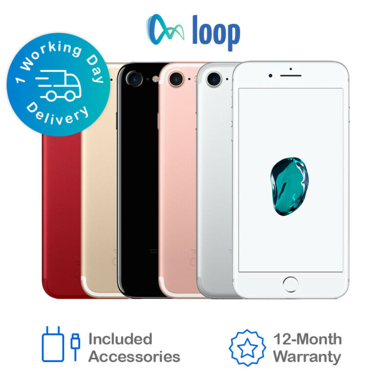 AU379 • Buy Apple IPhone 7 32GB 128GB 256GB - Network Unlocked *All Colours Available*