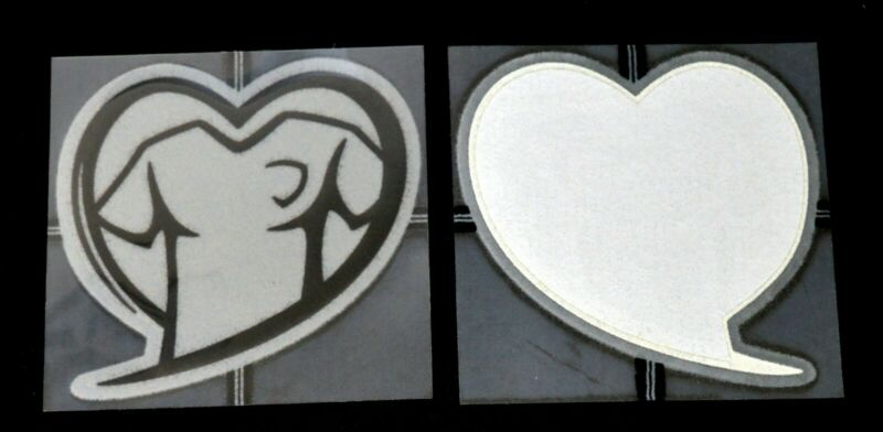 Official Sporting ID Euro 2016 Heart Patch/Badge For Football Shirt Player Size • 20$