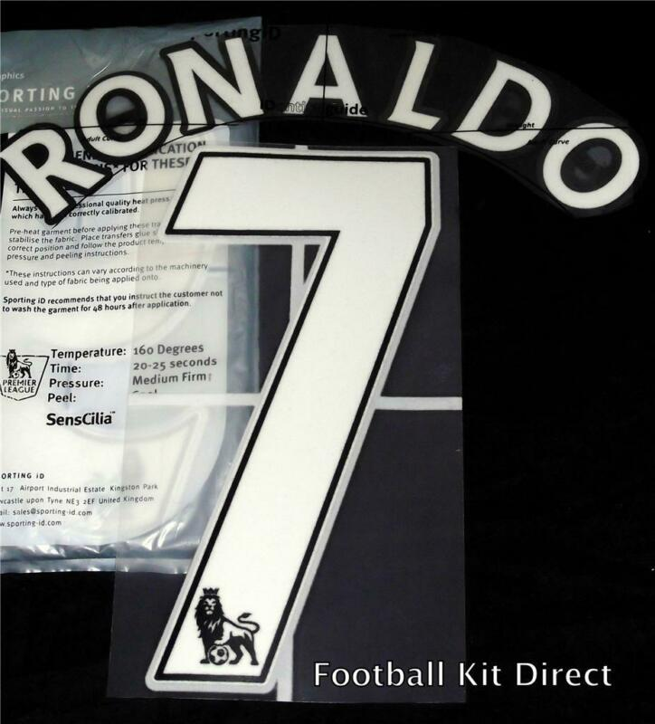 $18.84 • Buy Manchester United Ronaldo 7 Name/Number Set Football Shirt 07-13 Sporting ID