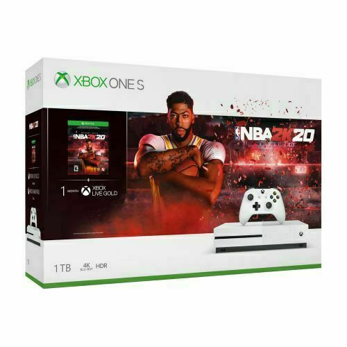 $219.99 • Buy Xbox One S 1TB NBA2K20 Console Physical Copy Game Bundle New