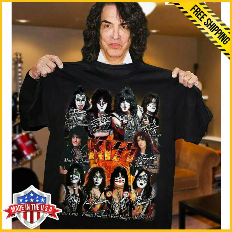 FREESHIP KISS Band T-Shirt End Of The Road Farewell Tour 2019 Black Unisex Tee • 21.99$