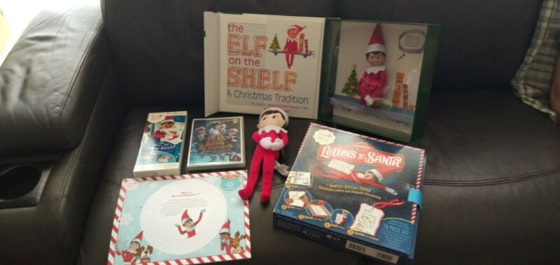AU85 • Buy ~*~~elf On The Shelf Christmas Pack~brand New~*~