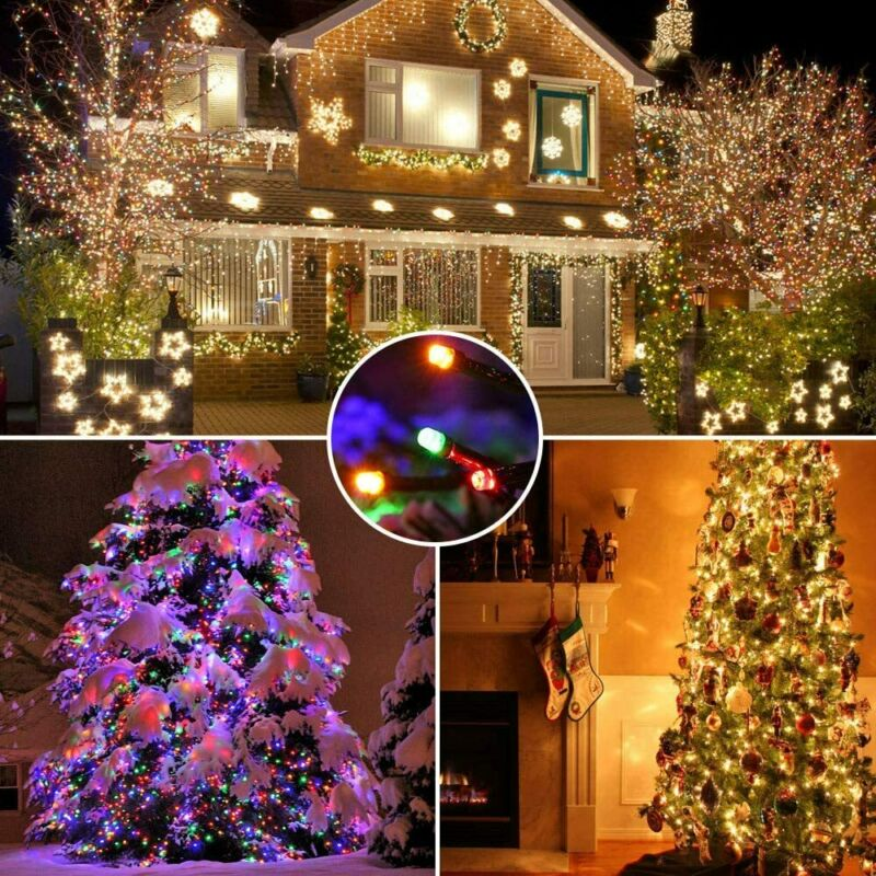 $8.98 • Buy Outdoor Indoor Fairy String Lights 100 LED Christmas Xmas Party Decor Lamps Plug