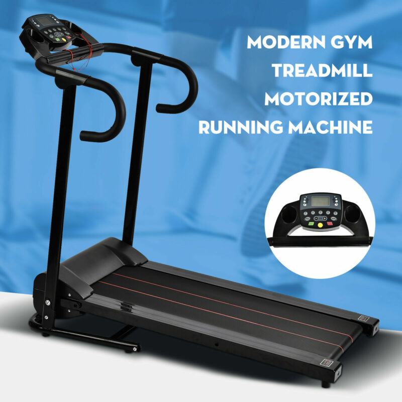 AU279.90 • Buy Electric Treadmill Foldable Home Gym Run Exercise Machine Fitness Equipment