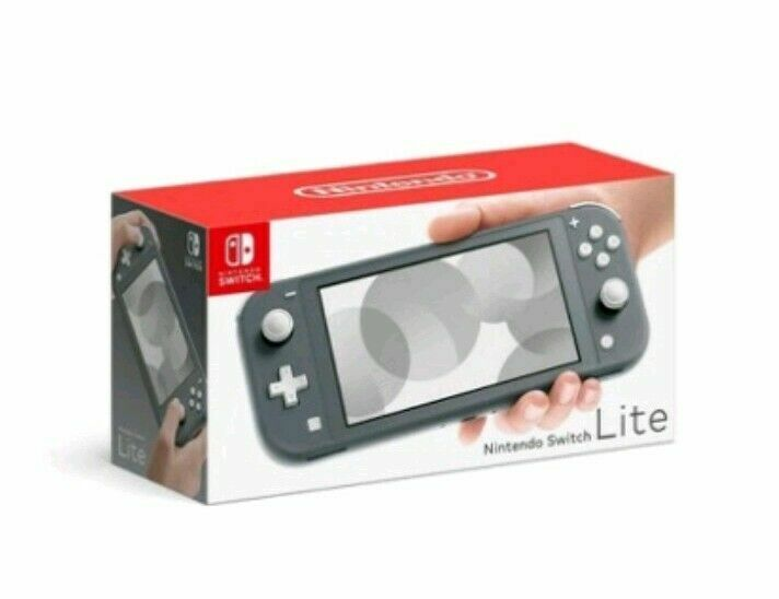 Nintendo Switch Lite - Gray Handheld Console Bundle (Free Priority Shipping!) • 189.98$