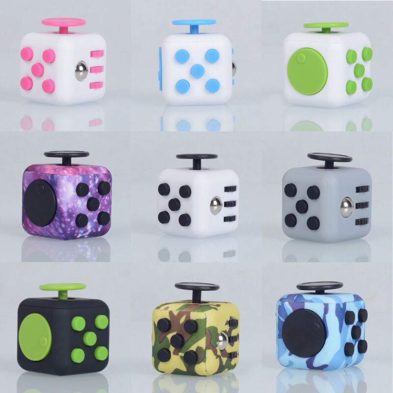 AU6.99 • Buy 3D Fidget Hand Finger Spinner Cube Focus Stress Reliever Kids Adults Toy Gift