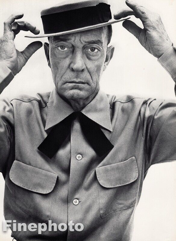 $149.11 • Buy 1952 Buster Keaton By Richard Avedon Actor Writer Comedian Film Vintage Photo