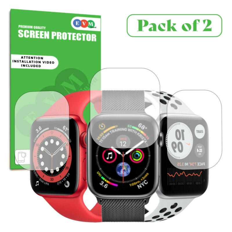 $ CDN5.07 • Buy Screen Protector For Apple Watch Series 1 2 3 4 5 TPU FILM Cover Clear Curved