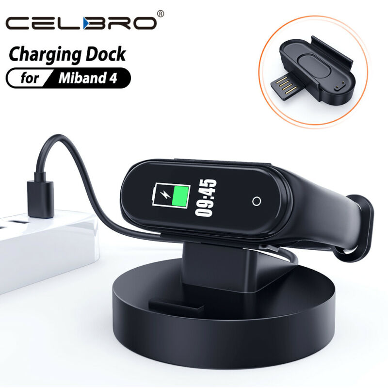 $1.75 • Buy For Xiaomi Mi Band 4 USB Clip Charging Dock Charger Cable Portable Adapter Cord