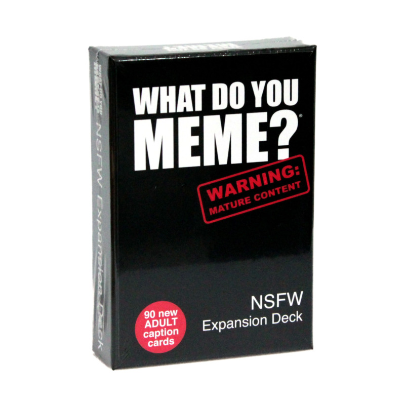 AU18.16 • Buy What Do You Meme? NSFW Expansion Deck