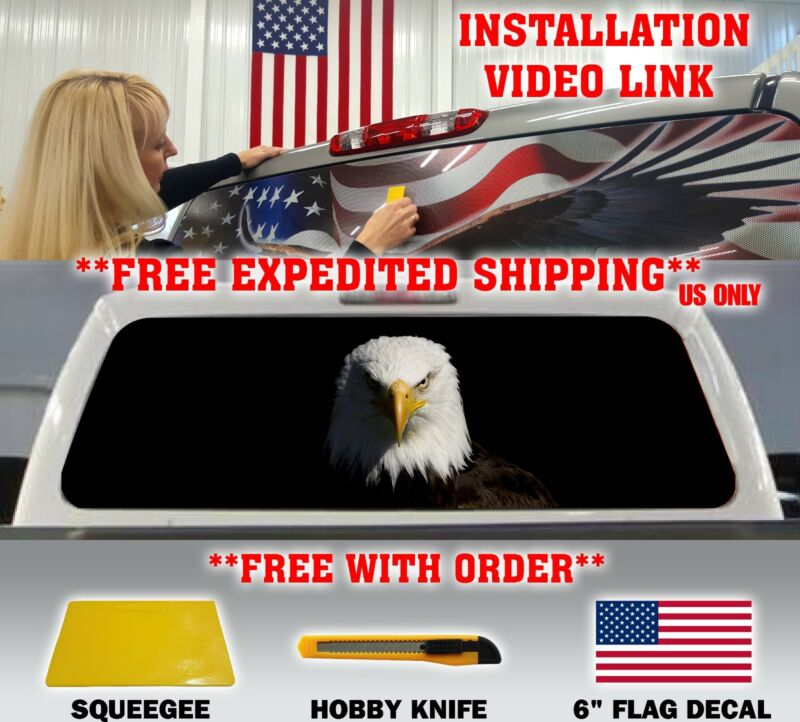 American Flag Rear Window Decal Compare Prices On Dealsan Com