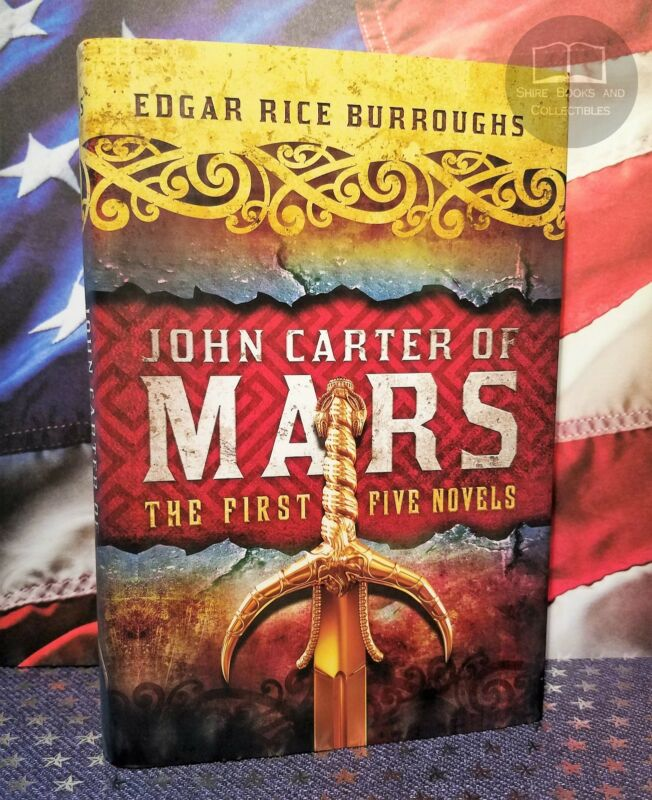 NEW John Carter Of Mars: The First Five Novels Hardcover Egar Rice Burroughs • 19.95$