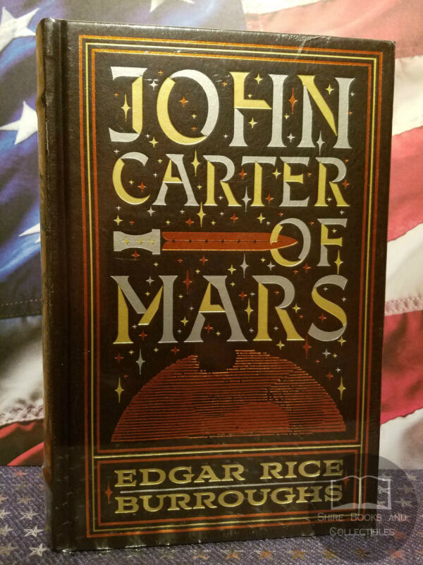 NEW SEALED John Carter Of Mars By Edgar Rice Burroughs Bonded Leather Edition • 34.95$