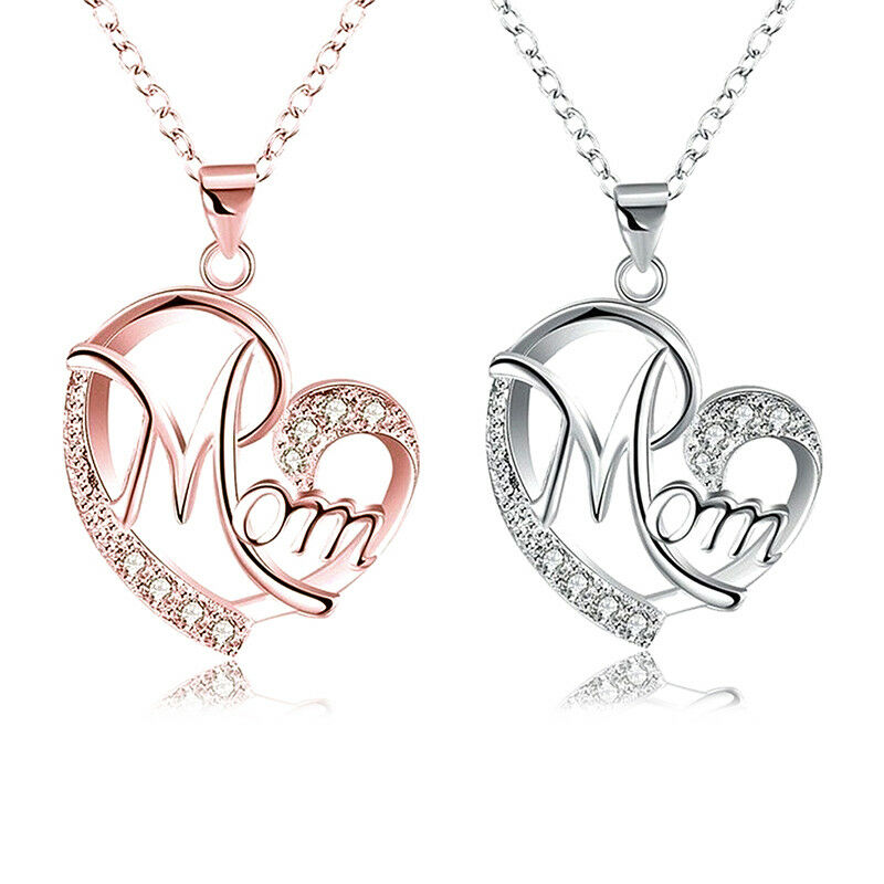 $4.29 • Buy Women Lady Mom Pendant Necklace Gift For Mother Daughter Grandmother Jewelry US