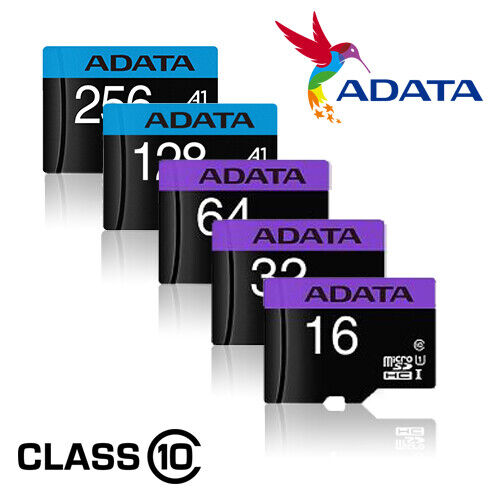 Micro SD Card 16GB 32GB 64GB 128GB 256GB TF Memory Class 10 Nintendo Cell Phone • 5.99$