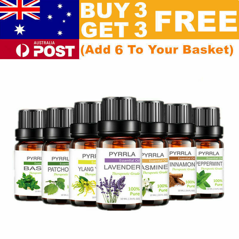 AU9.39 • Buy Essential Oils 100% Pure Natural Aromatherapy Essential Oil 10ml Fragrance Aroma