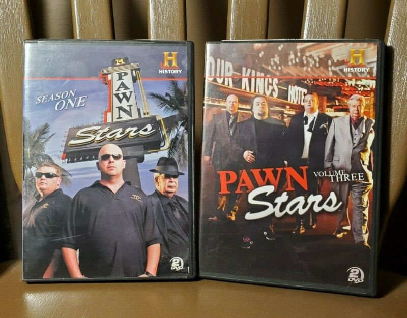 $ CDN14.99 • Buy Lot Of 2 PAWN STARS DVDs - Season One + Volume Three - 2 Discs In Each - Used