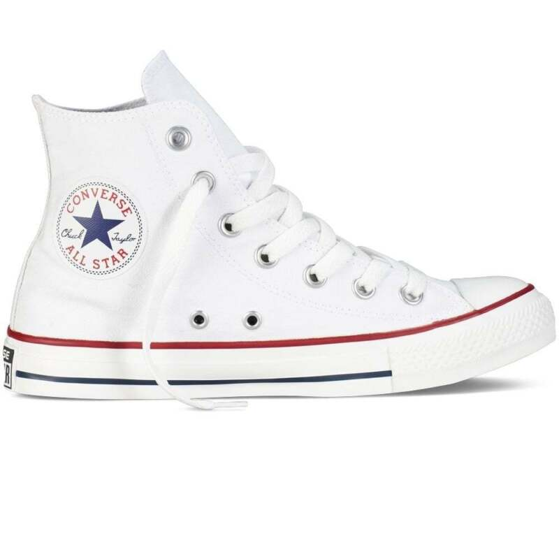 2converse bianche nere