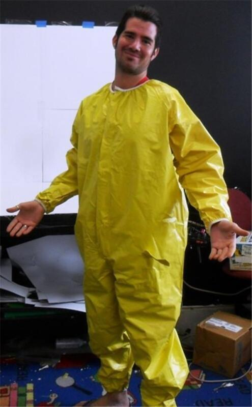 New Npo Nuclear Radiation Protection Protective Coverall Suit Vented Zipper Xxl • 16.99$