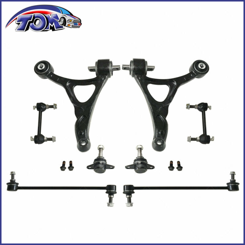 New Front Lower Control Arm Ball Joint Sway Bar Link Kit For 03-11 Volvo Xc90 • 99.37$