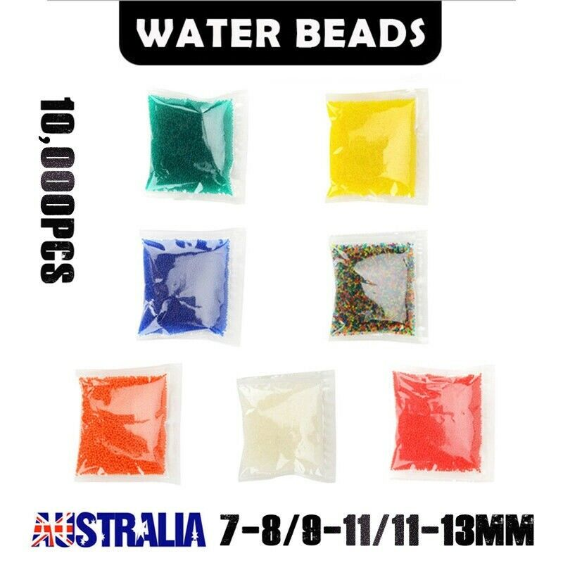 AU4.97 • Buy 10000 Water Beads Gel Balls Orbeez Crystal Soil Plant Wedding Decoration 50G/Bag