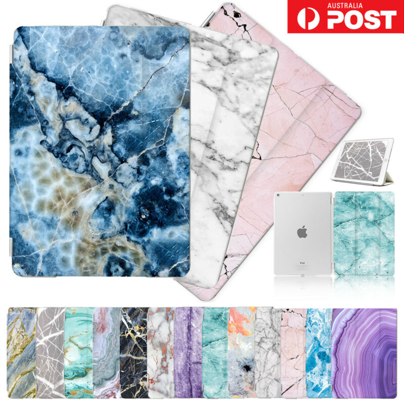 AU17.99 • Buy Marble Front&Back Smart Case Cover For IPad 2 3 4 5 6 Mini Air Pro 9.7 10.5 F001