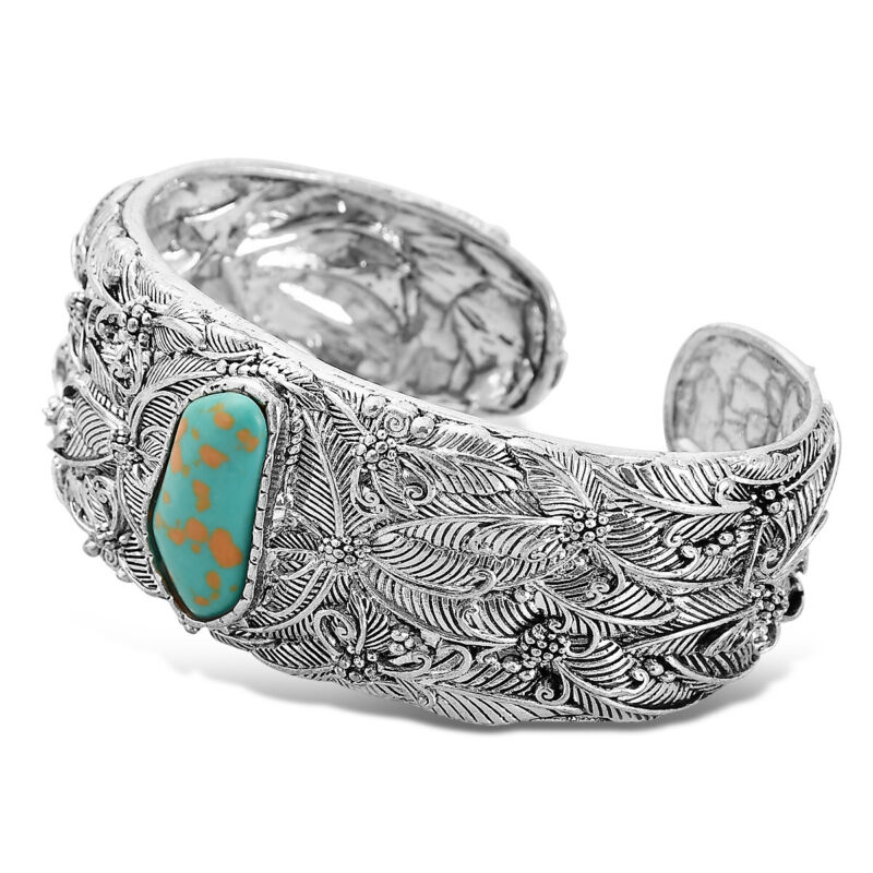 $6.78 • Buy Vintage Women Boho Bohemia Turquoise Open Bracelet Cuff Bangle Jewelry Gifts US