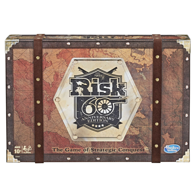 $39.99 • Buy Risk 60th Anniversary Edition Family Board Game
